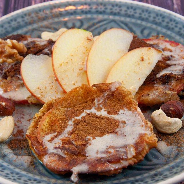 Rezept: Apfel-Pancakeringe