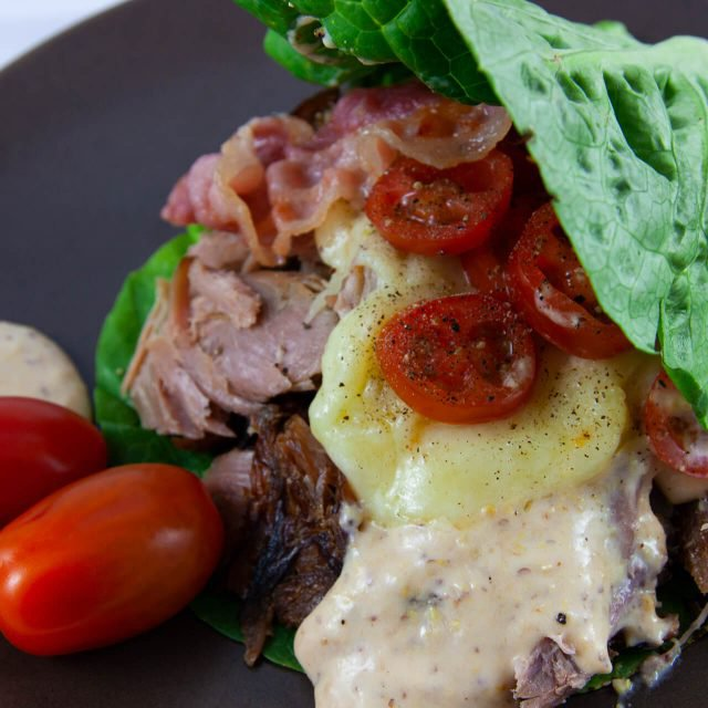 Low Carb Rezept: Salatblattburger